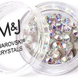 Swarovski Crystals Flat Back Rhinestones - 2088 Xirius Rose Round Foil Backed - SS16 (3.8mm-4mm) ... | Amazon (US)
