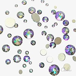 SWAROVSKI CRYSTAL PARADISE SHINE (001 PARSH) 144 pcs 2058/2088 Crystal Flatbacks rhinestones nail... | Amazon (US)