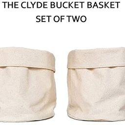 Isla Sagrada Canvas Woven Basket I Plant Basket I 2 Pack I Eco Friendly Plant Decor   Amazon (US)