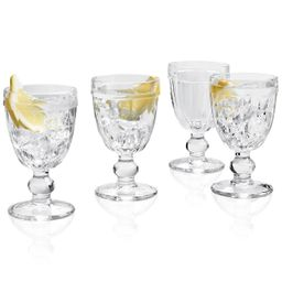 Clear Footed Goblets, Set of 4, Created for Macy's   Macys (US)