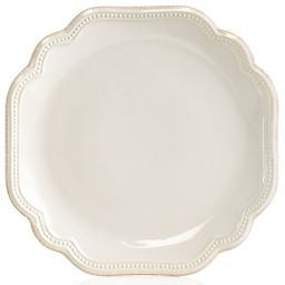 Dinnerware, French Perle Bead White Salad Plate   Macys (US)