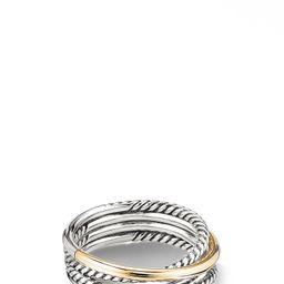 Crossover Narrow Ring with 18K Gold | Nordstrom