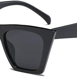 FEISEDY Vintage Square Cat Eye Sunglasses Women Fashion Small Cateye Sunglasses B2473 | Amazon (CA)