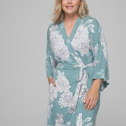 Cool Nights Kimono Short Robe   Soma Intimates