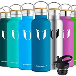 Super Sparrow Stainless Steel Vacuum Insulated Water Bottle, DStandard Mouth -350ml-620ml- 500ml ... | Amazon (US)