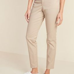 Mid-Rise Skinny Everyday Khakis for Women   Old Navy (US)