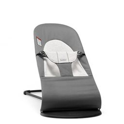 BABYBJÖRN Bouncer Balance Soft Cotton - Jersey Dark Gray/Gray   Target
