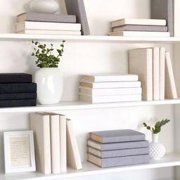 Mix & Match Fabric Covered Decorative Books | Etsy (US)