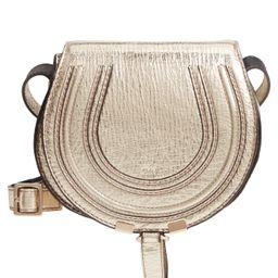 Chloe Mini Marcie Metallic Leather Crossbody Bag - | Nordstrom