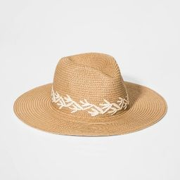 Girls' Embroideried Floppy Hat - art class™ Brown One Size | Target
