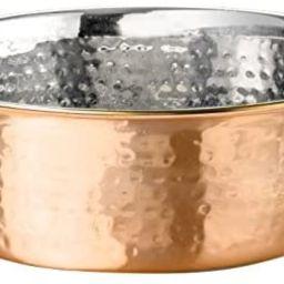 NEATER PET BRANDS Hammered Decorative Designer Bowls - Luxury Style Premium Dog and Cat Dishes   Amazon (US)