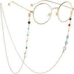 Eyeglass Chains Glasses Reading Eyeglasses Holder Strap Cords Lanyards - Eyewear Retainer for Wom... | Amazon (US)
