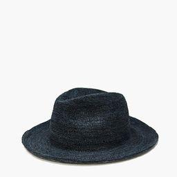 WYETH™ Straw Bailey Fedora Hat | Madewell