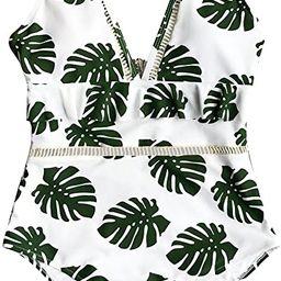 CUPSHE Women's in The Forest One-Piece Swimsuit Beach Swimwear Bathing Suit   Amazon (US)