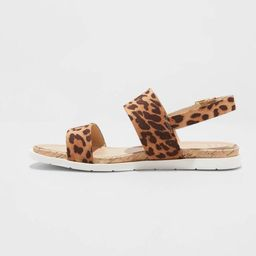 Women's Malia Two Strap Ankle Sandals - A New Day™   Target