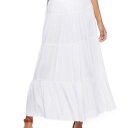 Scoop Tiered Maxi Skirt Women's | Walmart (US)