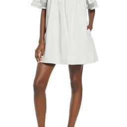 Lace Trim Shift Dress | Nordstrom