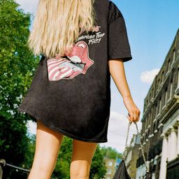 The Rolling Stones Graphic Band Tee Dress | NastyGal (US & CA)