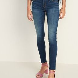 Mid-Rise Rockstar Super Skinny Jeans for Women   Old Navy (US)