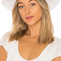 Bailey Hat in White & Tan | Revolve Clothing (Global)