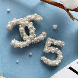 Chanel brooch style  CC pin | Etsy | Etsy (US)
