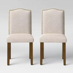 Camelot Nailhead Dining Chair - Threshold™   Target