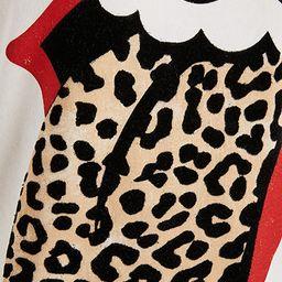 Rolling Stones Leopard Tee | Shopbop