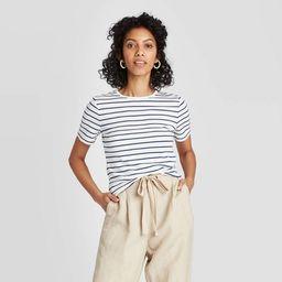 Women's Slim Fit Short Sleeve T-Shirt - A New Day™   Target