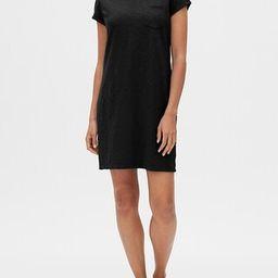 Pocket Short Sleeve Shirtdress   Gap Factory