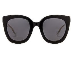 Gucci Round Square in Black & Grey from Revolve.com | Revolve Clothing (Global)