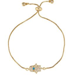 Dainty Hasma Pull & Tie Bracelet | The Styled Collection