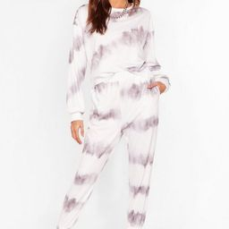 Time to Relax Tie Dye Joggers Lounge Set   NastyGal (US & CA)