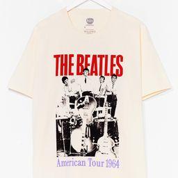 The Beatles Graphic Band Tee Dress   NastyGal (US & CA)