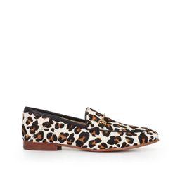Sam Edelman Loraine Bit Loafer White/Brown Pop Leopard | Sam Edelman