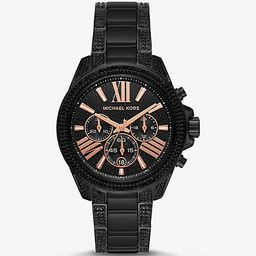 Ritz Black-Tone Watch | Michael Kors (US & CA)