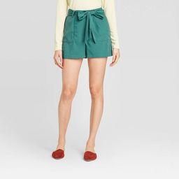 Women's Tie Waist Shorts - A New Day™   Target