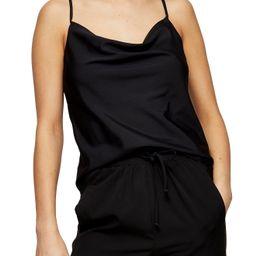Women's Topshop Cowl Camisole, Size 10 US - Black   Nordstrom