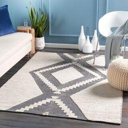 Ariella Handmade Indoor / Outdoor Moroccan Area Rug (2' x 3' - Charcoal) | Overstock