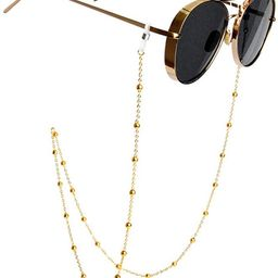 Eyeglass Chains Glasses Reading Eyeglasses Holder Strap Cords Lanyards - Eyewear Retainer for Wom...   Amazon (US)