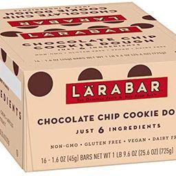 Larabar, Gluten Free Bar, Chocolate Chip Cookie Dough, Vegan (16 Bars) | Amazon (US)