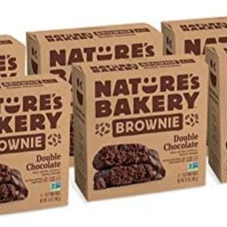Nature's Bakery Whole Wheat Fig Bars, Double Chocolate Brownie, Real Fruit, Vegan, Non-GMO, Sna... | Amazon (US)