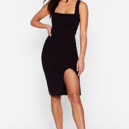 Squarin' to Go Midi Dress | NastyGal (US & CA)