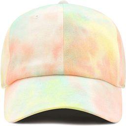 Unisex Blank Washed Low Profile Cotton & Denim & Tie Dye Dad Hat Baseball Cap | Amazon (US)