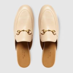 Women's Princetown leather slipper   Gucci (US)