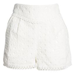 Lace Trimmed Eyelet Shorts | Nordstrom