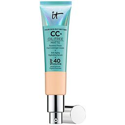 IT Cosmetics Your Skin But Better CC+ Oil-FreeMatte SPF 40 | QVC