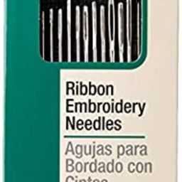 Dritz 56RE Ribbon Embroidery Hand Needles, Assorted Sizes (14-Count) | Amazon (US)