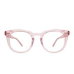 WESTON - ROSE CRYSTAL + BLUE LIGHT TECHNOLOGY CLEAR | DIFF Eyewear