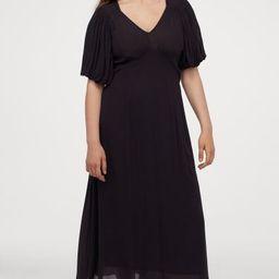Puff-sleeved Dress   H&M (US)