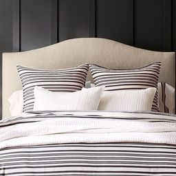 Raleigh Curved Upholstered Headboard | Pottery Barn (US)